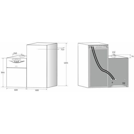 Préparateur ECS horizontal pour ODIA & BORA NOVA HTE 220 litres 220SHL