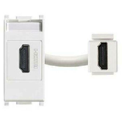 PRESA PLANE SERIES HDMI WHITE COLOR 14346