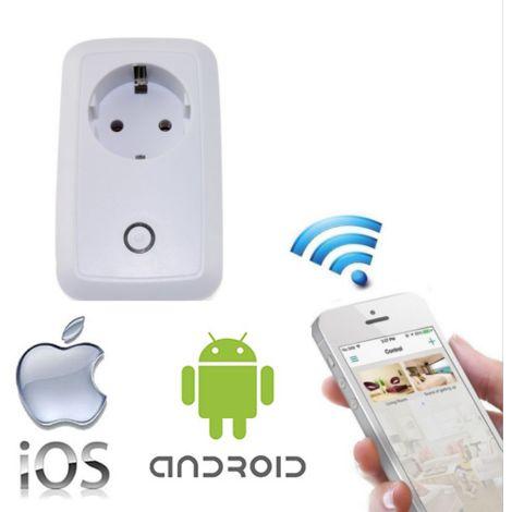 Presa Smart Wifi Wireless Interruttore Alimentatore Telecomando Per iOS Android