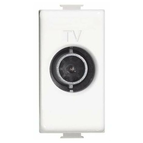 presa tv diretta originale 1 CE bianco bticino matix bti am5202d