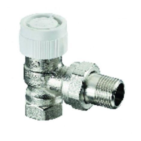Presetting thermostatic radiator valve body angle AV9