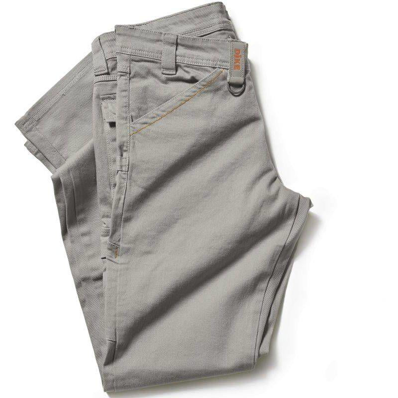 PRESS pantalon de travail en coton Gris - T. S - Dike