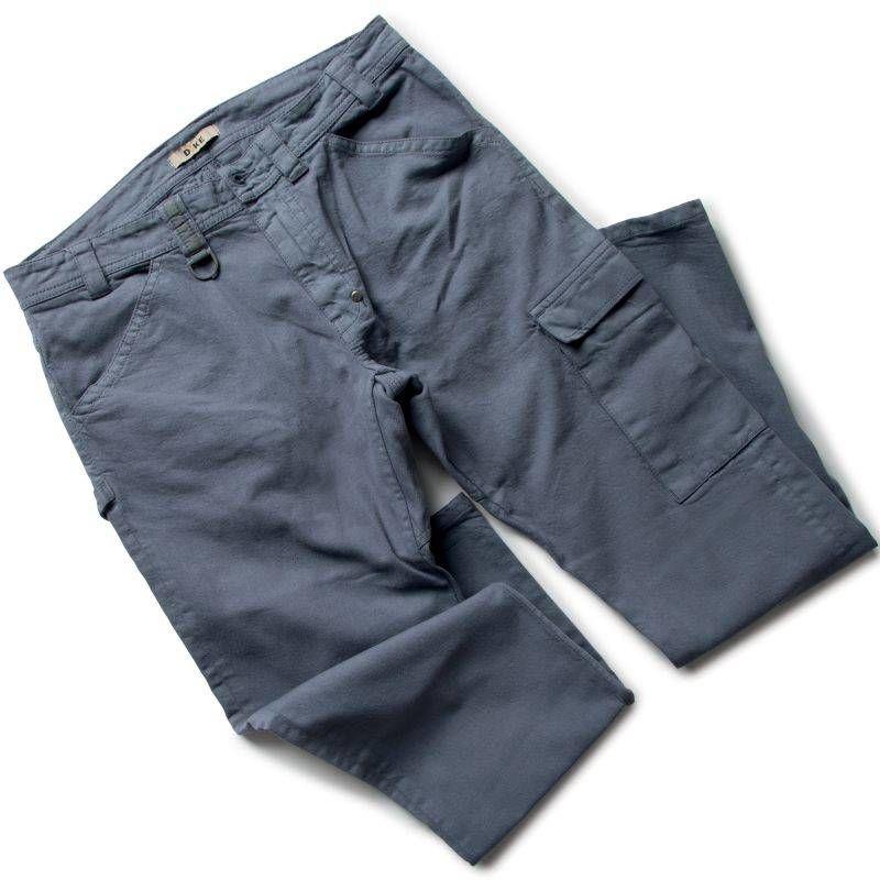 PRESS pantalon de travail en coton Dike Marine - T. S - DIKE