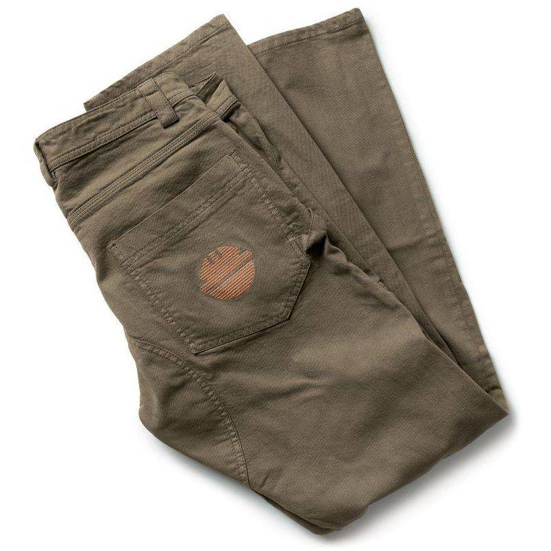 PRESS pantalon de travail en coton Marron - T. S - Dike