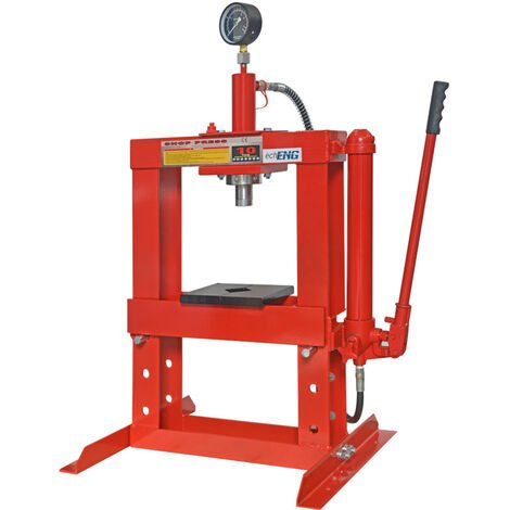"""main image of """"Pressa idraulica manuale 10000 kg 10 T TON Tonnellate manometro - MA PE PE10"""""""