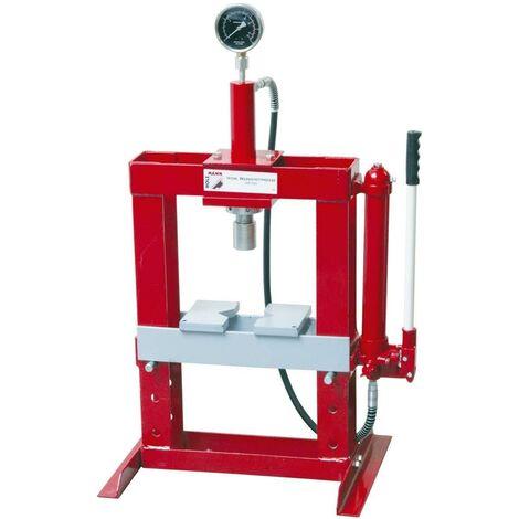 Pressa idraulica manuale 10t da banco holzmann wp10h 886 for Pressa idraulica manuale