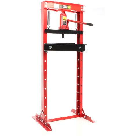 Pressa idraulica pressa per officina da 12 t larghezza di for Pressa idraulica per officina