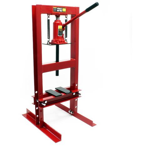 Pressa idraulica pressa per officina da 6 t 51727 for Pressa idraulica per officina