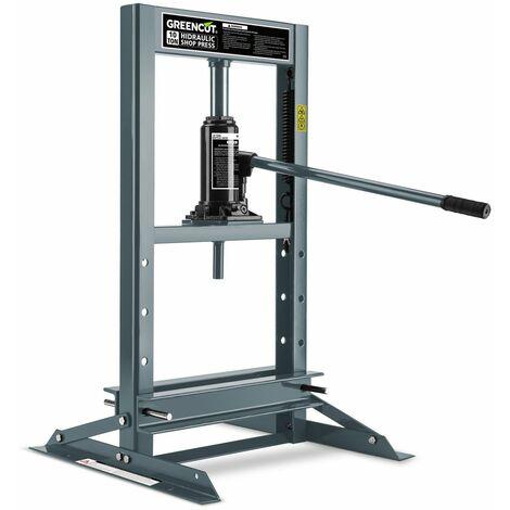 Pressa idraulica robusta 10 tons di pressione per garage e for Presse idrauliche usate per officina