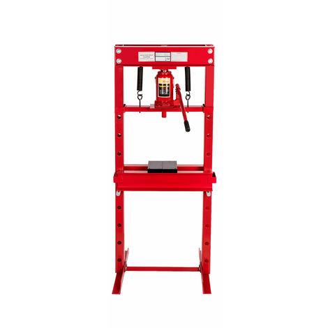 Pressa manuale idraulica 20 tonnellate hsp20t oy for Pressa idraulica manuale