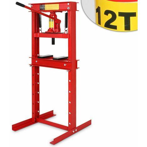 pressa professionale idraulica officina manuale 12