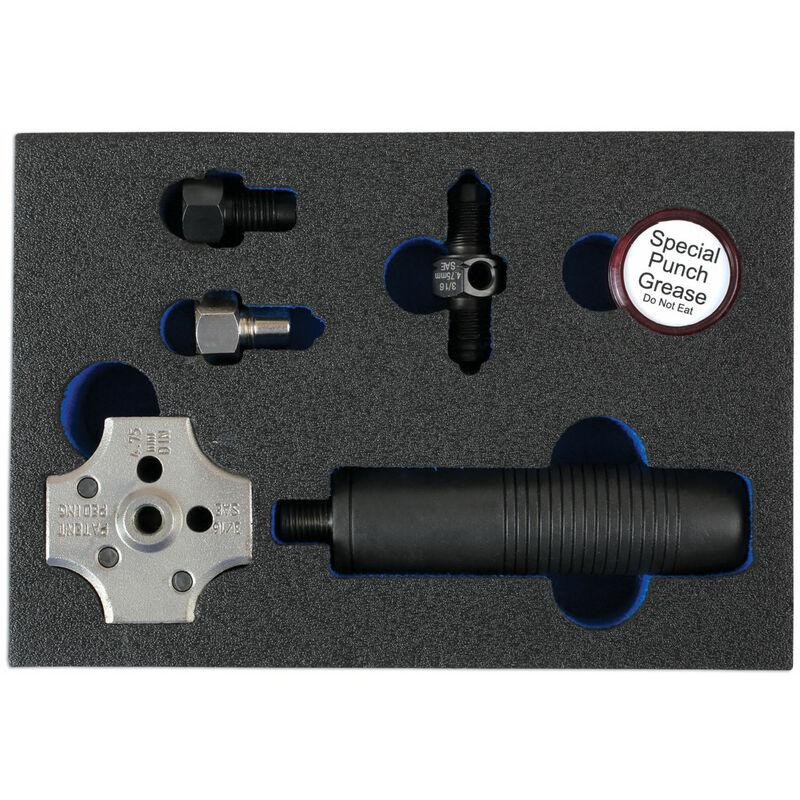 PRESSE A COLLET DE FREIN POUR TUYAU 4.75 MM ET 3/16 - Laser Tools