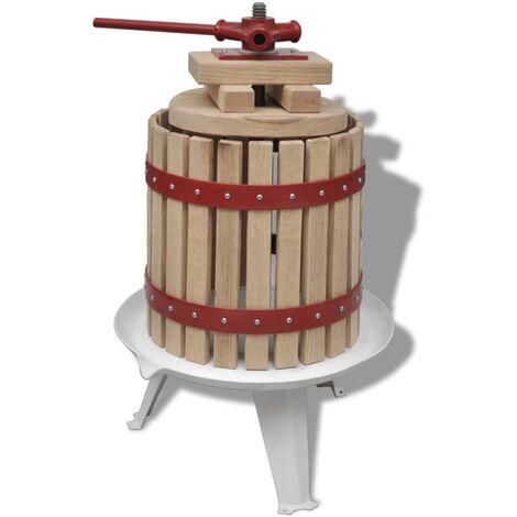 Presse à fruits et à vin 12 L