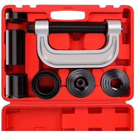 Presse à rotule robuste et kit d'outils de retrait de joint en U, pour la plupart des voitures et camions légers à 2 roues motrices et 4 roues motrices