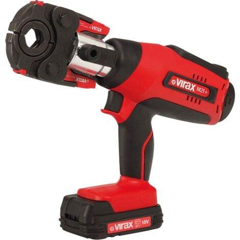 Presse à sertir 18V Viper M21+ avec inserts TH 16/20/26 - 253511 - Virax