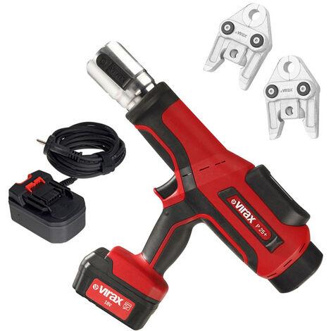 Presse à sertir électro-hydraulique Viper® P25+ avec adaptateur filaire et 2 pinces à sertir offertes - 253262