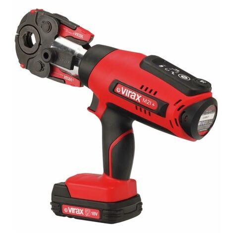 Presse à sertir électro-mécanique Viper® M21+ 18V 1.5Ah - 253502 - Virax