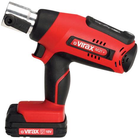 Presse à sertir électro-mécanique Viper® M21+ 2 batteries VIRAX - 253500