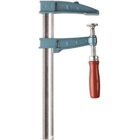 Presse à vis avec frein et manche bois serrage 60cm URKO tige 35x8mm saillie 120mm - 1514060