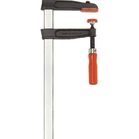 Presse à vis fonte et acier TGR - BESSEY - poignée bois - serrage 1000 mm - saillie 120 mm - Rail 30x8 mm -TGR100S12