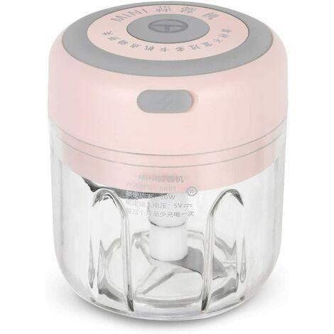 Presse-ail électrique sans fil hachoir Mini hachoir culinaire hachoir à légumes mélangeur alimentaire