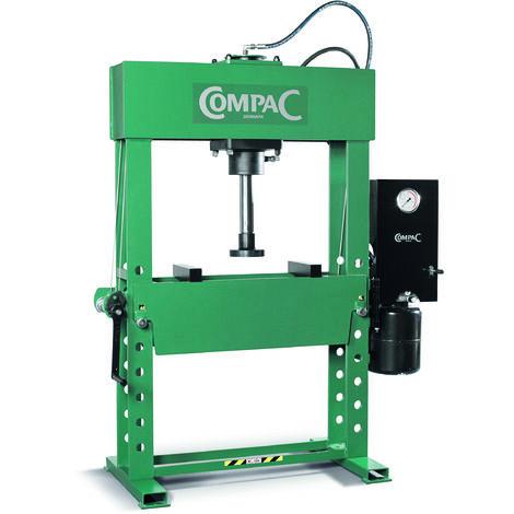 Presse atelier electro-hydraulique verin double effet 60t compac