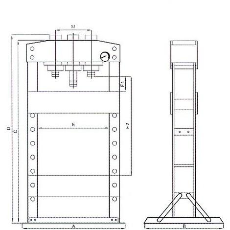 PRESSE D'ATELIER 50T - S10550-DEREF