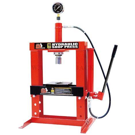 Presse d'atelier hydraulique 10t