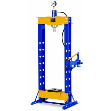 Presse d'atelier hydraulique 30 tonnes de pression bleu - Bleu