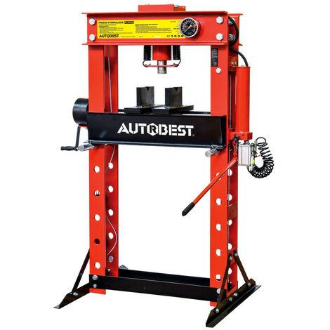 Presse d'atelier hydraulique/hydropneumatique 50 tonnes - AUTOBEST