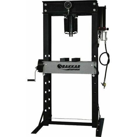 Presse d'atelier manuelle et pneumatique 40T
