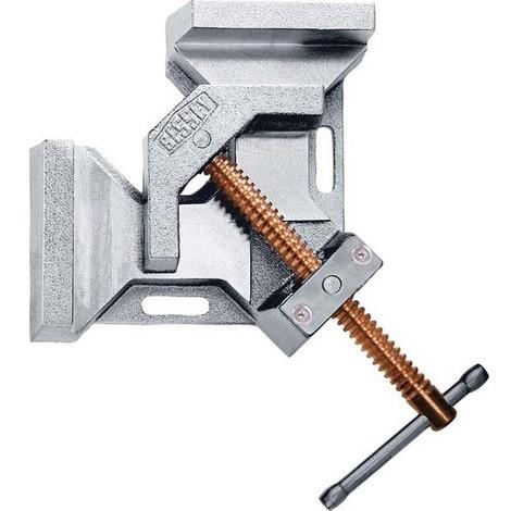 Presse-équerre WSM, Capacité de serrage : 2 x 120 mm, Continuité 100 mm, Hauteur des mors 61 mm