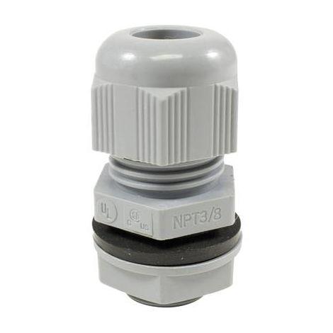 Presse-étoupe AlphaWire PPC13 SL080 PPC13 SL080 PG13.5 Polyamide gris ardoise 1 pc(s)