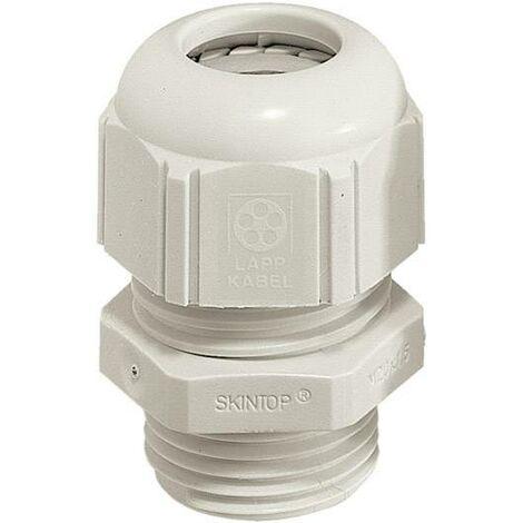 Presse-étoupe LAPP SKINTOP® STR-M12 53111500 M12 Polyamide gris clair (RAL 7035) 1 pc(s) S25261