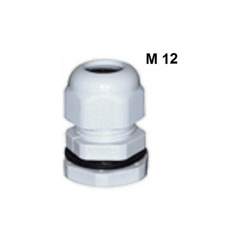 environ 12.70 cm polyamide IP69K 5 in Lapp Skintop M12 Presse-étoupe Avec Contre-écrou un pack