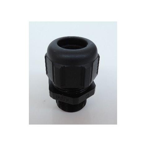 Presse-étoupe plastique ISO25 noir RAL 9011 pour câble Ø 12-18mm sans contre-écrou étanche IP68 (à l'unité) LEGRAND 097965