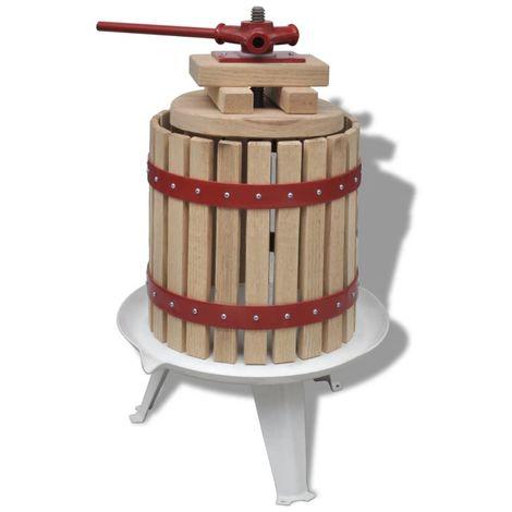 Presse ¨¤ fruits et ¨¤ vin 12 L