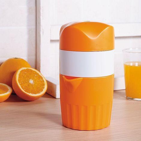 Presse-fruits manuel ABS pour coupe-jus avec presse-agrumes D533 (orange)