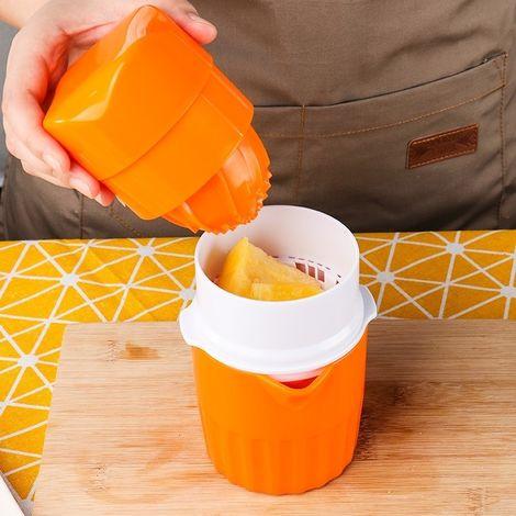 Presse-fruits manuel ABS pour coupe-jus avec presse-agrumes D566 (orange)