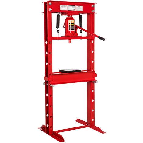Presse hydraulique 12 tonnes avec commande au pied