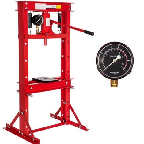 Presse hydraulique 12 tonnes avec manomètre