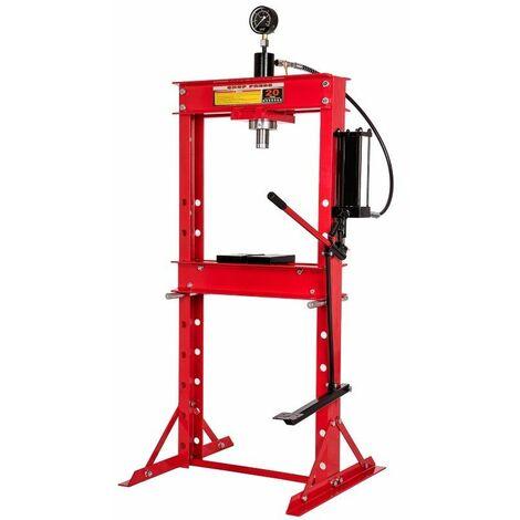 Presse hydraulique 20 tonnes avec commande au pied