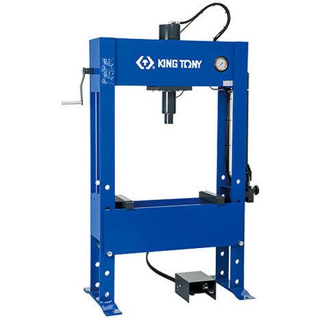 Presse hydraulique à main pour les ateliers de dépannage de camions et l'industrie - Capacité 60 tonnes