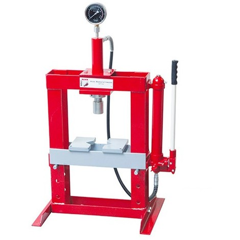 Presse hydraulique d'atelier 10 Tonnes - WP10H HOLZMANN - -