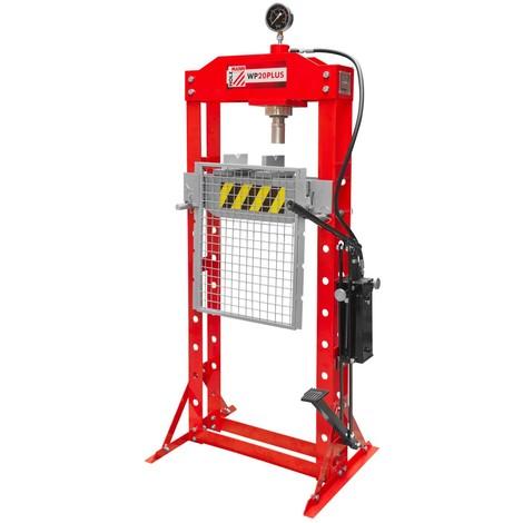 Presse hydraulique d'atelier 20 tonnes WP20PLUS Holzmann
