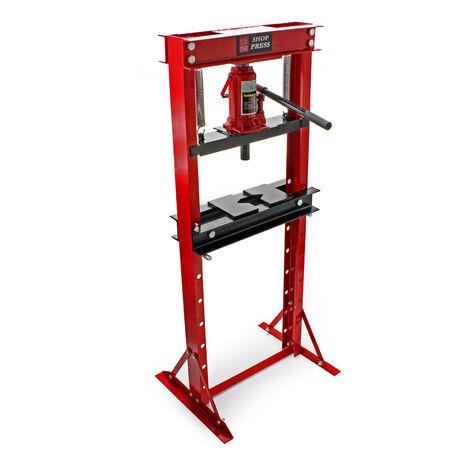 Presse hydraulique d'atelier de 12 Tonnes Manuelle Force de pressage Vérin Atelier