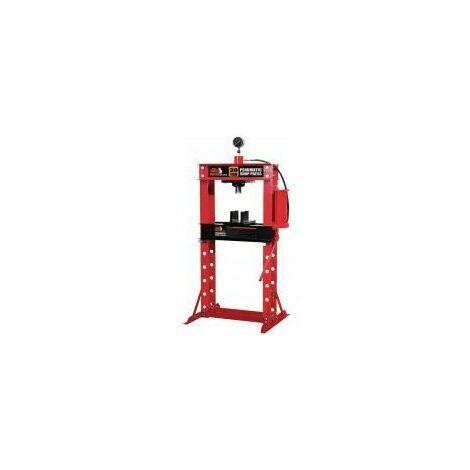 Presse hydraulique d'atelier sur pieds capacité maxi 30 tonnes