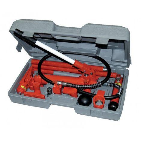 Presse hydraulique pour carrosserie ou mécanique auto, capacité du verin 4T - AUTOBEST