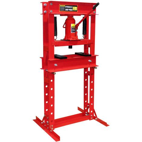 Presse hydraulique Presse d'atelier Presse à cadre 30t Pression de pressage Plier Deformer