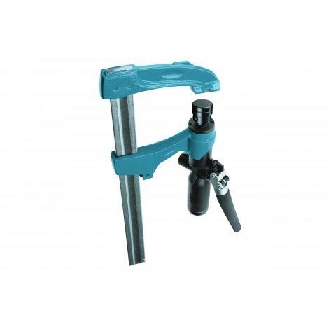 Presse hydraulique URKO - serrage 600mm - saillie 107mm - rail 35x8mm - 503H2